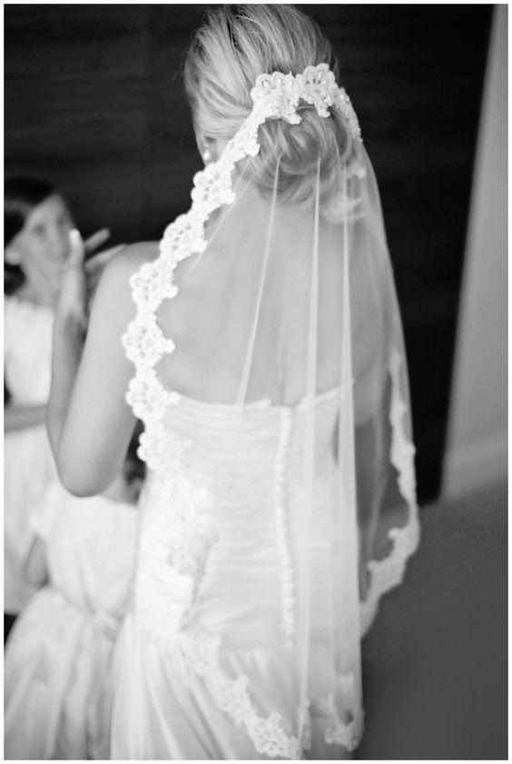 Mantillas de novia bordadas