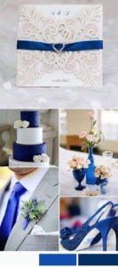 decoracion para bodas azul rey