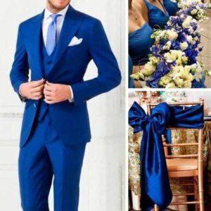 ideas para bodas en azul rey