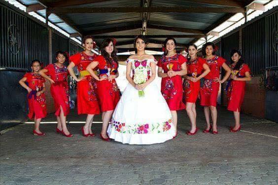 Boda mexicana damas