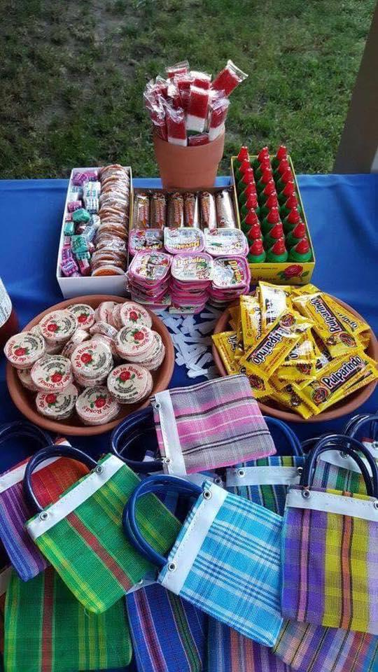 Mesa de dulces para una Boda mexicana