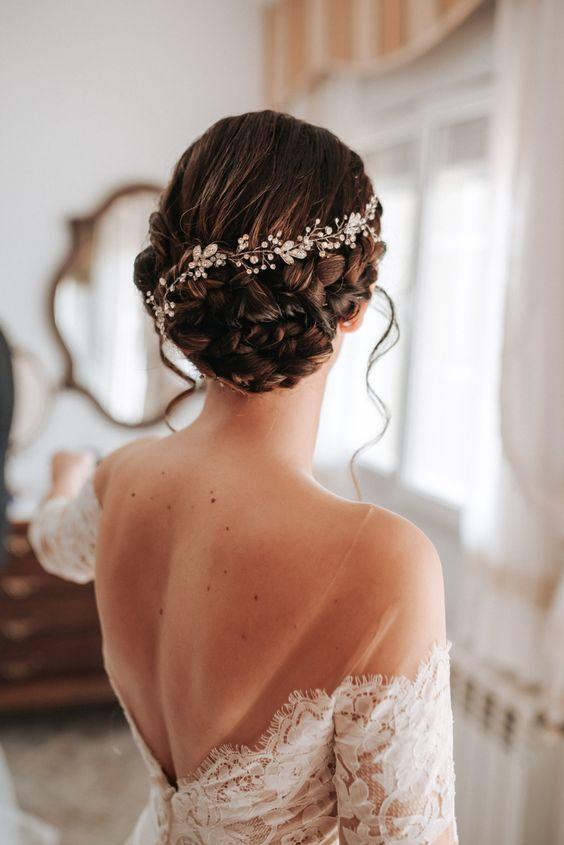 Super dulce peinados para novias Galería de cortes de pelo tutoriales - Peinados para novias 2019   Te decimos como elegir y ...