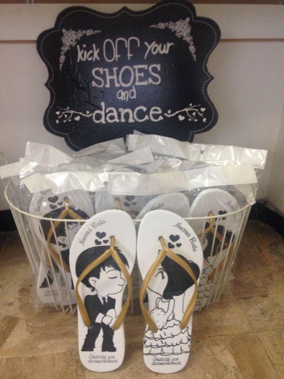 souvenirs para la hora del baile en una boda