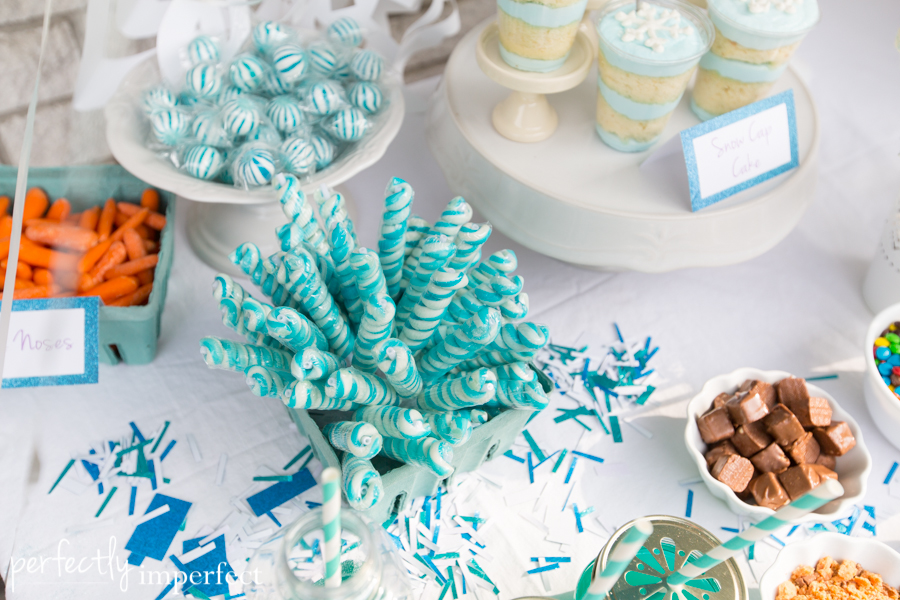 Candy Bar Decoration Frozen How To Organize