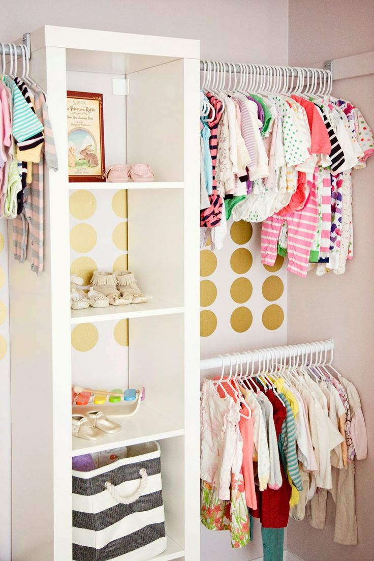 ideas to organize a closet child