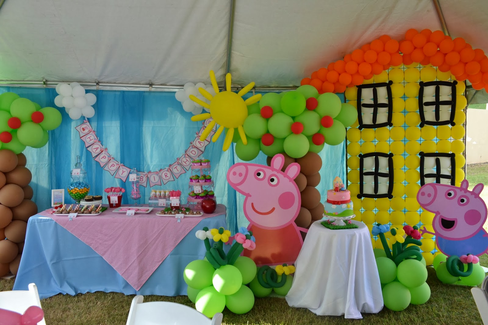 Ideas Birthday Party Of Peppa Pig