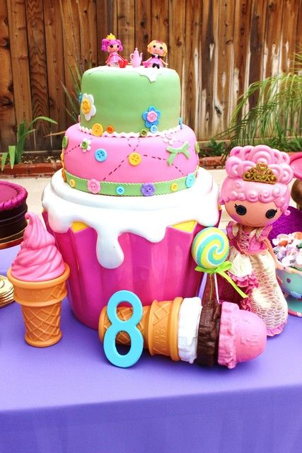 Superb Lalaloopsy Birthday Party Cake Fondant How To Organize Personalised Birthday Cards Rectzonderlifede