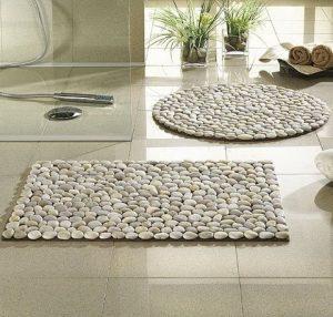 stones rug ideas