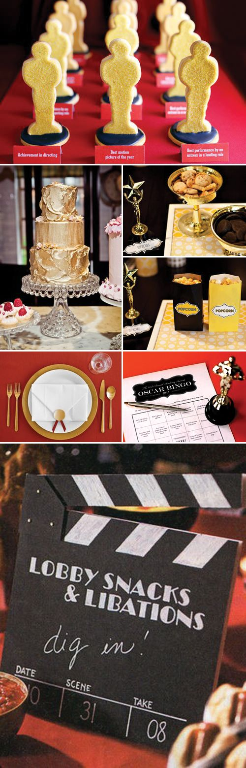 Ideas for Hollywood party How to organize
