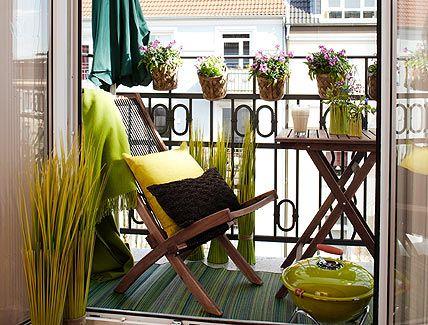 Decoration of terrace