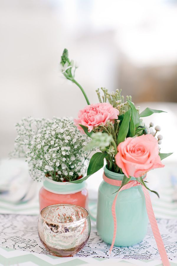 Ideas for decorating with Mason Jars
