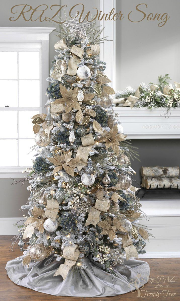 Gray Christmas Tree Decorations.Christmas Tree Decoration 2 How To Organize
