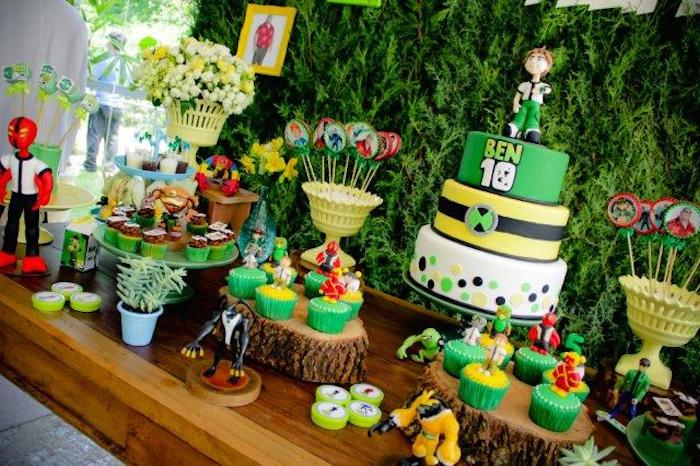 Ben 10 Birthday Party Ideas Decor