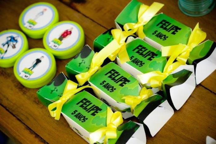 Ben 10 Birthday Party Ideas Decor How To Organize