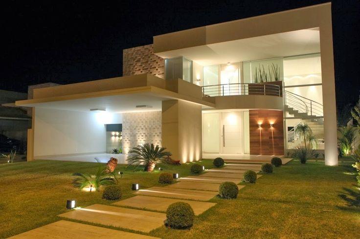 Facades of houses how to organize - Ideas para casas modernas ...