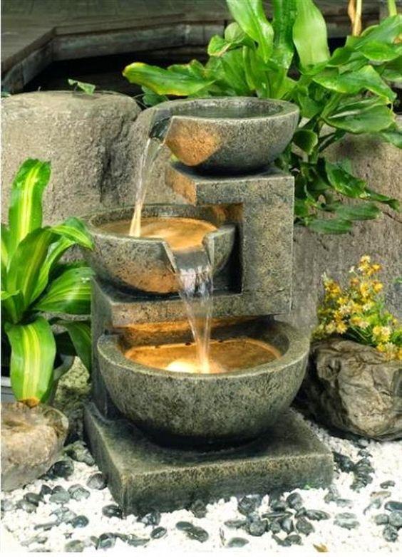 Декоративные комнатные водопады своими руками