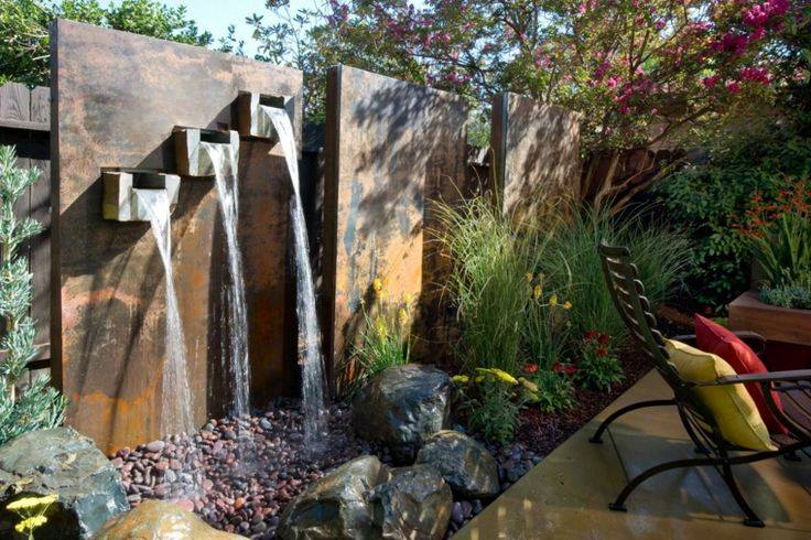 Backyard Waterfalls Diy : waterfall garden diy (5)  How to organize
