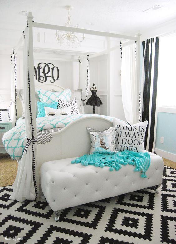 teens bedroom decor (12) | How to organize