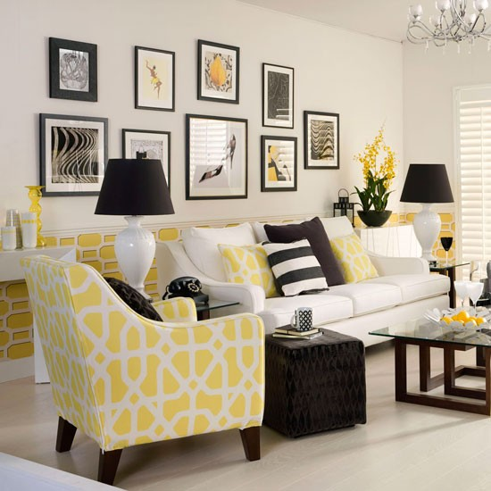 Yellow Design Interior Ideas