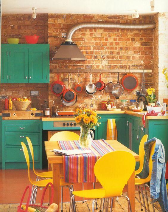 Hippie Chic Decoration Kitchen 13 How To Organize