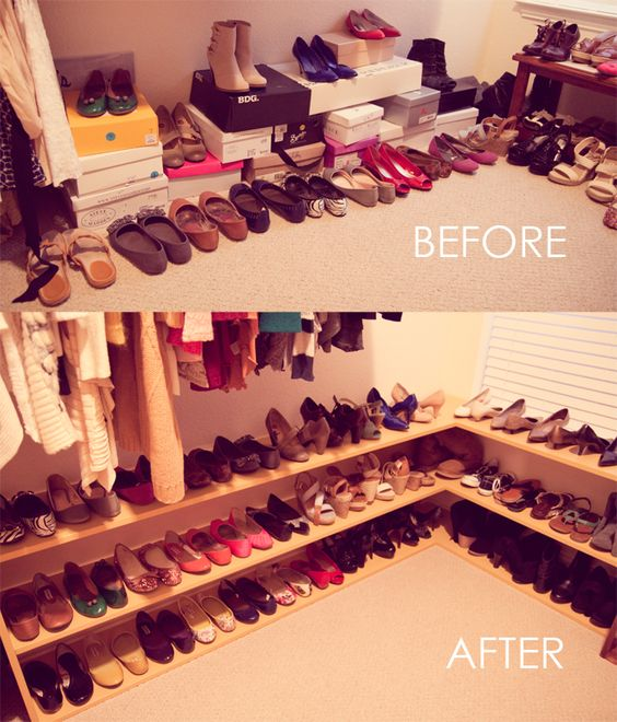 ideas to organize your closet - Ideas to organize your closet before and after