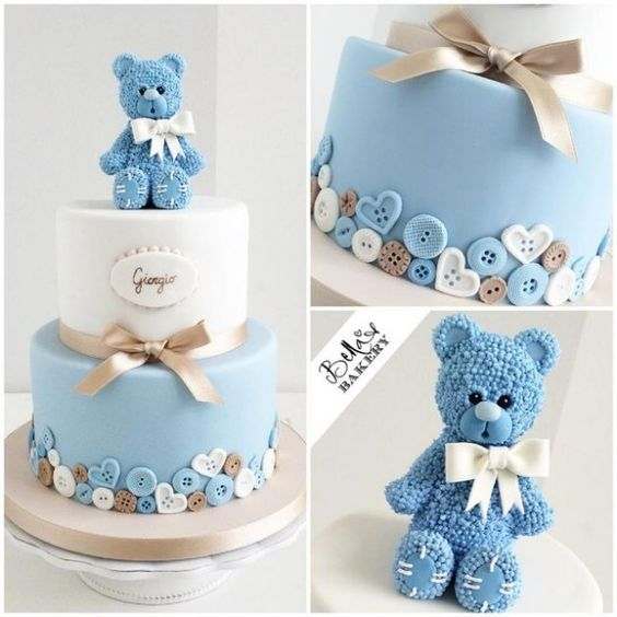 Cakes And Snacks Ideas For Baby Shower