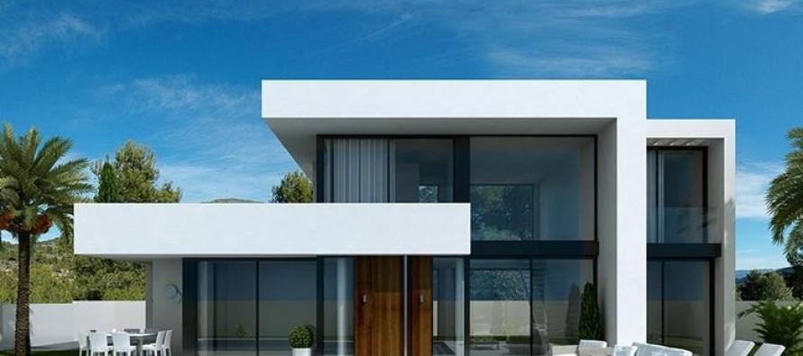 Facades Of Modern Houses