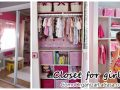 Closet decoration for girls