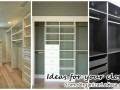 Ideas to design the interior of your closet