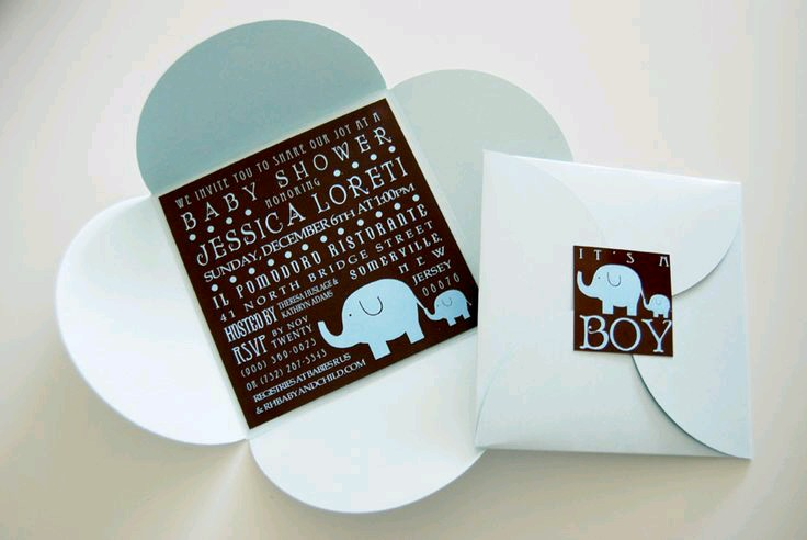 Ideas Modernas Para Baby Shower.Baby Shower Invitations 7 How To Organize