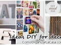 DIY ideas that will help you decorate your home