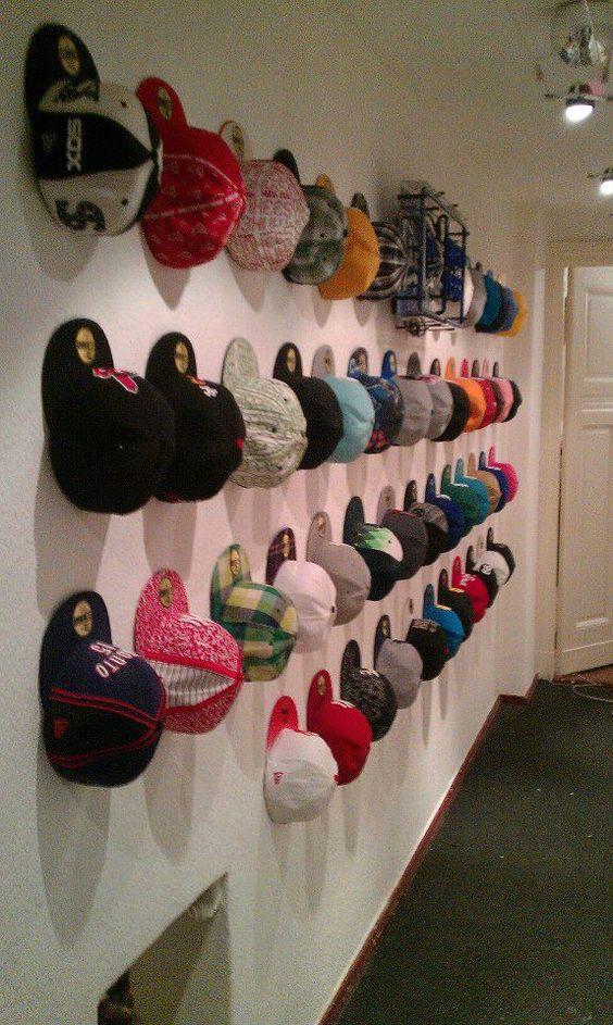 Hat Hanger Ideas Baseball Caps