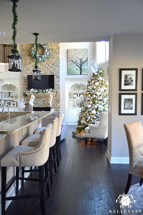Ideas For Decorating Your Kitchen This Christmas 2016 2017 15 How To Organize