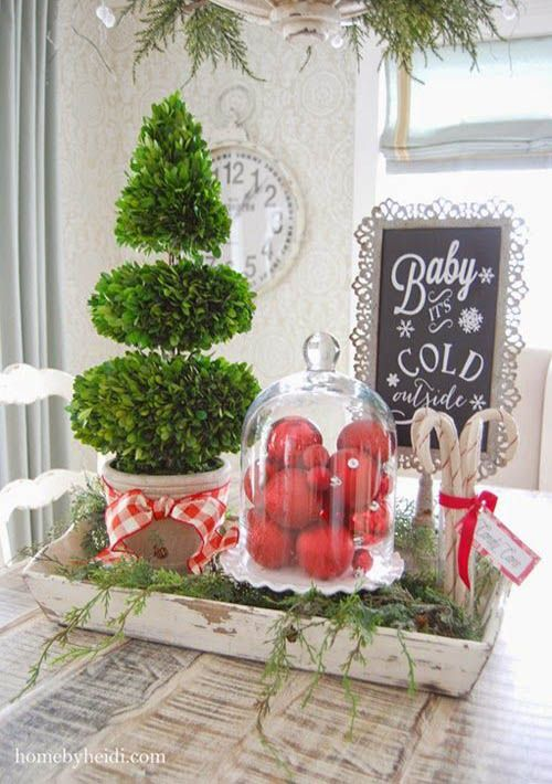 Ideas For Decorating Your Kitchen This Christmas 2016 2017 How To