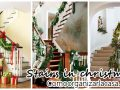 Ideas to decorate the stairs of your house this Christmas 2016