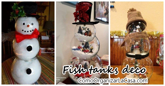 Christmas decorations with fish tanks - Fish tank christmas decorations ...
