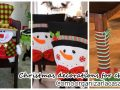 2016 Christmas Decoration for Dining Chairs