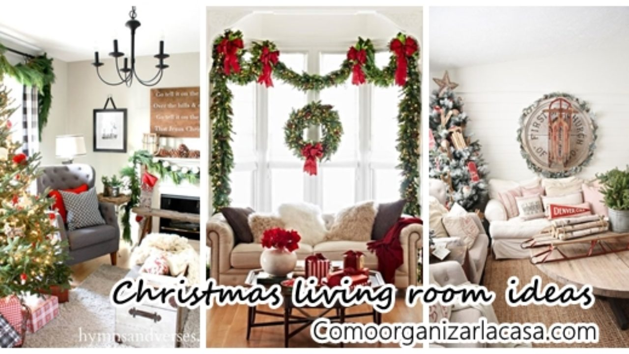 Beautiful Ideas To Decorate Your Living Room This Christmas