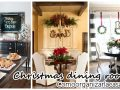 Decoration of dining rooms for Christmas 2016-2017