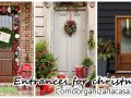 Ideas to decorate the entrance of your house this Christmas 2016-2017