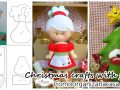 Molds and Felt Christmas Crafts