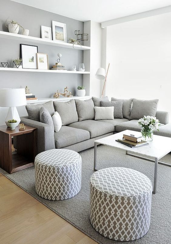 27 ways to decorate gray interiors
