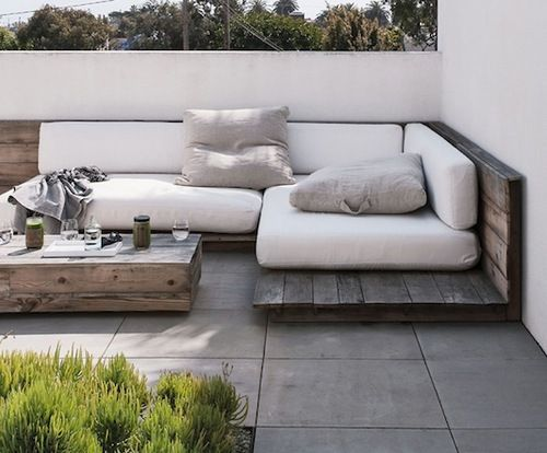 28 furniture proposals to decorate your terrace or garden