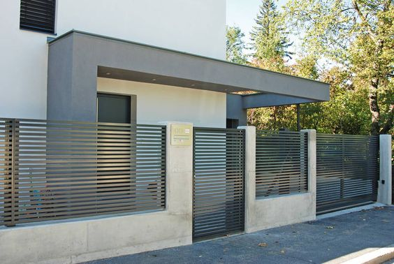 Cement Fence Designs Home 14 How To Organize