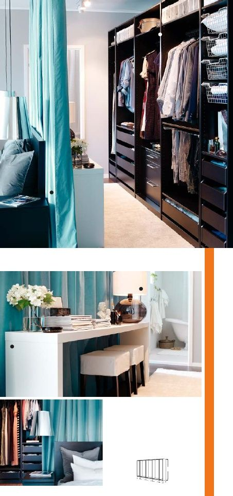 Fantastic Closet Ideas Behind Bed 5 How To Organize
