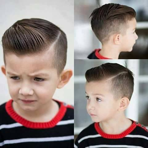 Причёски для мальчиков 10 лет фото полубокс