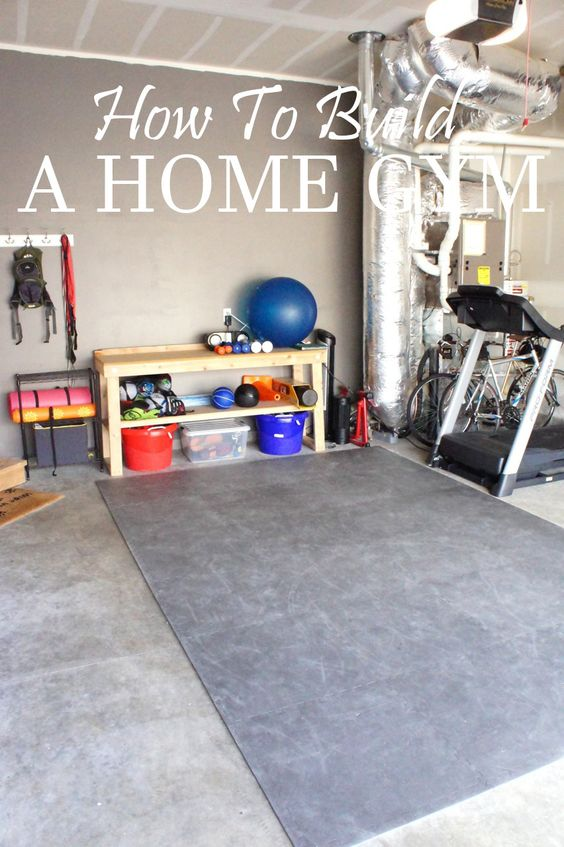 Ideas to build a home gym for How to design a home gym