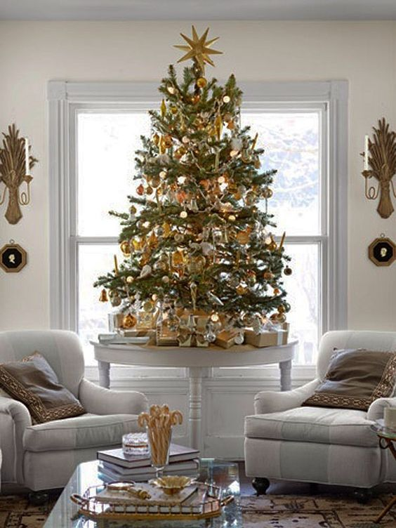 Trends to decorate your Christmas tree 2017 - 2018 - How to organize