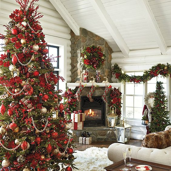 Christmas decorating trends 2017 Holiday decorated homes