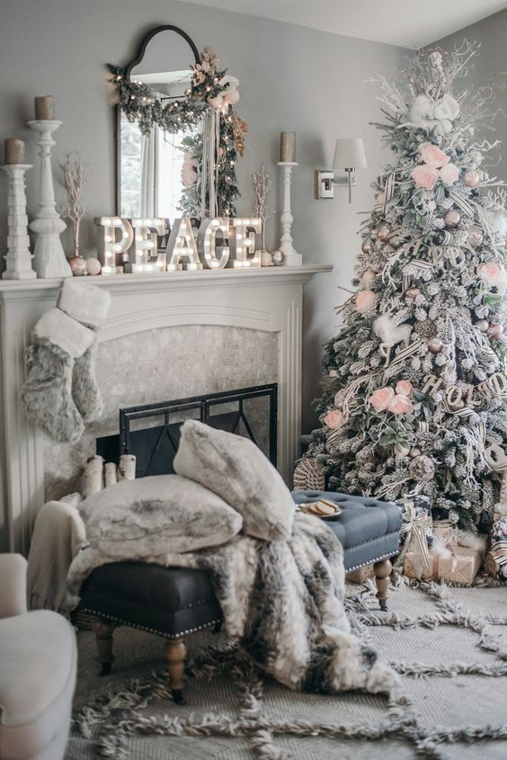 christmas home decor pinterest christmas decorating trends 2017 10582